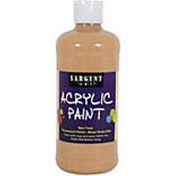 Sargent Art 24-2487 16-Ounce Acrylic Paint,  Peach