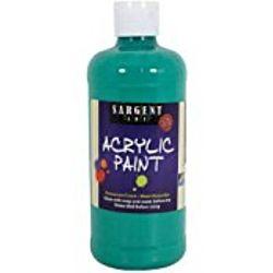 Sargent Art 24-2474 16-Ounce Acrylic Paint,   Phtalo Green