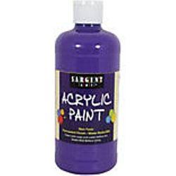 Sargent Art 24-2442 16-Ounce Acrylic Paint,  Spectral Violet