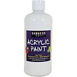 Sargent Art 24-2496 16-Ounce Acrylic Paint,  Titanium White