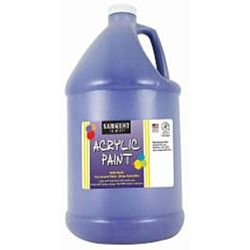 Sargent Art 22-2750 64-Ounce Acrylic Paint, Ultramarine Blue