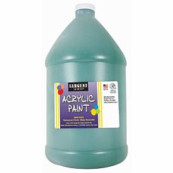 Sargent Art 22-2766 64-Ounce Acrylic Paint, Spectral Green