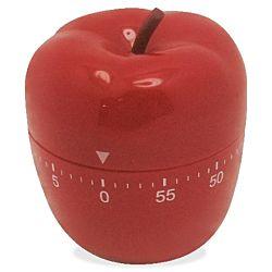 Ashley Apple-shaped Timer 1 Hour - Desktop - For Sports - Red