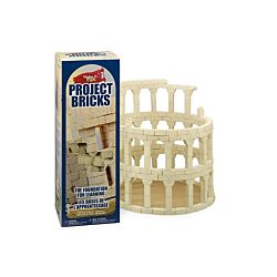 FloraCraft Styrofoam Kits, Make It Fun Project Bricks Sand Natural Color