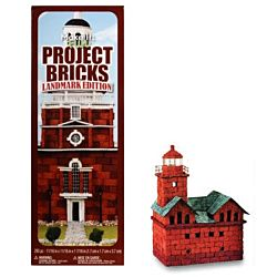 FloraCraft Styrofoam Kits, Make It Fun Project Bricks Sand Red Shades Color
