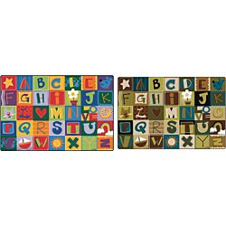 KIDSoft™ Toddler Alphabet Blocks Rug