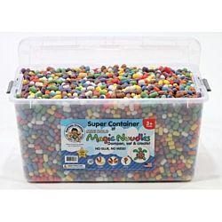 Magic Nuudles - Super Container - Mini Bold Colors- 4000+ pcs.
