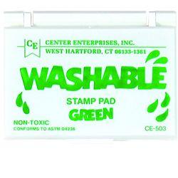 Center Enterprise, Washable Stamp Pads, Green, CE503