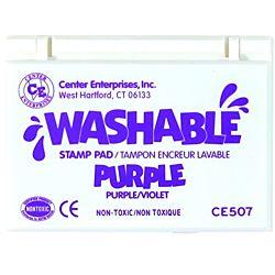 Center Enterprise, Washable Stamp Pads, Purple , CE507