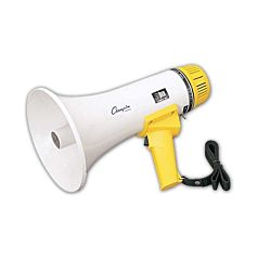 Coach, Referee, And Umpire Supplies Megaphones And Air Horns - 13151 - 800 Yard Range Megaphone With Siren