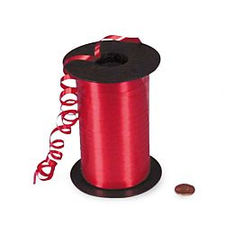 Red Curling Ribbon Roll 500 yds.