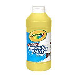 Crayola Washable Paint 16 oz. - Yellow