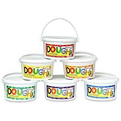 Dazzlin' Dough Assortment Value Pack - set of six 3 lb. tubs