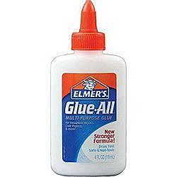 Elmer's Glue-All Multi Purpose Glue, 4 oz Bottle E1322