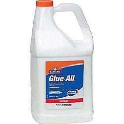 Elmer's Glue-All Multi Purpose Glue, Gallon Bottle E1326