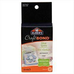 Elmer's Craftbond Glue Spots, Thin Small Sticky Dots, 300 Per Pack (E4000)