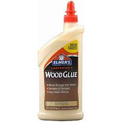Elmer's Carpenter's Wood Glue, 16 Ounces E7020
