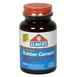 Elmer's Rubber Cement, 4 Oz E904