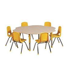 Children's Adjustable Activity Table - Flower 60