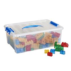 Transpara-Bricks, 128-Piece ELR-19209