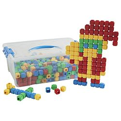 Click-n-Create Cubes, 600-Piece ELR-19232