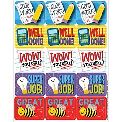 Eureka Super Job Inspirational Stickers (658019)