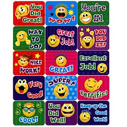 Eureka Emoticons Success Stickers (658404)