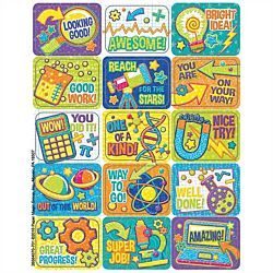 Eureka Color My World STEM Success Stickers (658407)