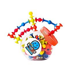 Fat Brain Toys Mini Squigz - 75pc