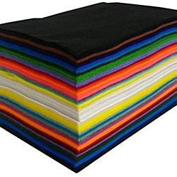 Craft Felt Sheets -  Acrylic 9 inches - by 12