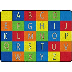 Alphabet Seating Classroom Rug