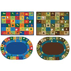 Learning Blocks Classroom Rug