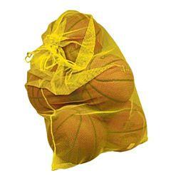 Mesh Ball Storage/Laundry Bag, Yellow 24