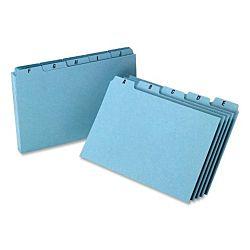 A-Z Index Card Guide Pressboard Set, 5 x 8 Inches,  25 per Set