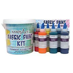 Handy Art ® Fabric Paint Kit
