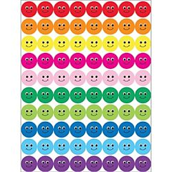 Hygloss Smiley Faces Stickers, 1/2
