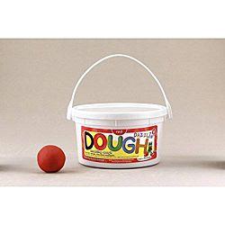 Hygloss Dazzlin Modeling Dough Red 3 Lb Tub HYG-48301