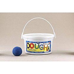 Hygloss Dazzlin Modeling Dough Blue 3 Lb Tub HYG-48303