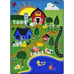 Happy Farm Classroom Rug