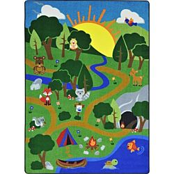 Happy Forest Classroom Rug