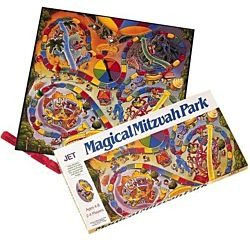 Jewish Educational Toys Magical  mitzvah match board game