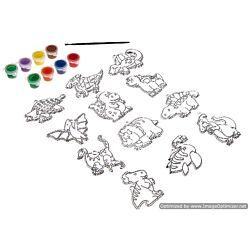 Suncatcher Group Activity Kit, Dinosaur 12/Pkg