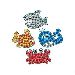 Under the Sea Jewel Mosaic Craft Kit - 12 project pack