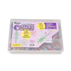 Pony Bead Critters Mega Kit with Organizer - Pearlized