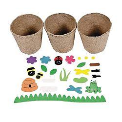 Garden Pot Craft Kit -12 Project Pack
