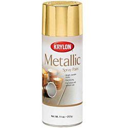 Krylon General Purpose Aerosol, 11-Ounce, Gold Metallic Finish Spray Paint