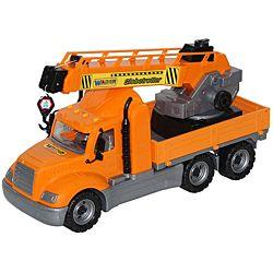 Wader American Crane Truck Toy