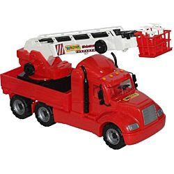 Wader American Fire Truck Toy