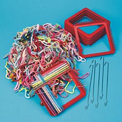 Loops & Looms Value Pack - 1 lb. Loops & 6 Looms