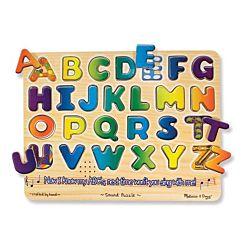 Alphabet Sound Wood Puzzle - 26 Pieces